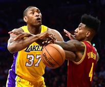 Los Angeles Lakers' Metta World Peace Thinks He Can Play For A Couple More Years