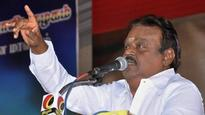 DMDK leaders advise Vijaykanth to not take on any allies for civic polls