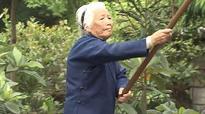 'Kung fu grandma', 94, shows off her martial arts skills