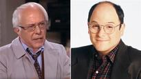 Bernie Sanders makes a great George Costanza in funny 'Seinfeld' clips