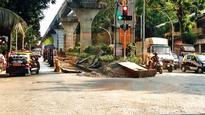 MMRDA, BMC pass the buck as monorail debris lies untouched