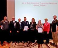 309th EMXG receives first annual DOD VPP award