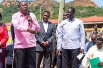 Uhuru commissions tarmacking of Sh18bn road in Kitui