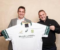 Blue Label Telecoms to sponsor the Springboks