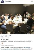 NRL stars' dodgy dinner before drug bust
