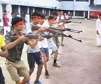Bajrang Dal Is Teaching Boys To Jump Through Fire And Use Weapons To 'Save Hindus'