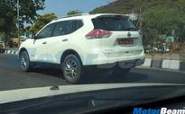Nissan X-Trail hybrid snapped on Indian roads for the first time, to be launched in Q2
