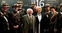 Ideals of those who fought in 1916 Rising still not achieved, says Higgins