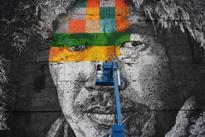 In pictures: Brazilian artist Eduardo Kobra's mural in Rio