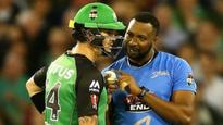BBL: Pollard, Pietersen get involved in unique on-field tussle