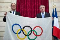 French president says Paris safe for 2024 Olympics