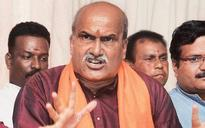 Pramod Muthalik booked for warning of bloodbath after Iftar party in Sri Krishna Mutt