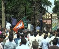BJP activists vandalise Bhadrak collector's office during hartal