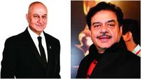 Does Anupam Kher have the time? Shatrughan Sinha believes the post of FTII chairman is a full-time job