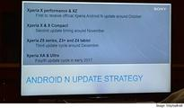 Rocking a Sony smartphone? This is when you will get Android 7.0 Nougat