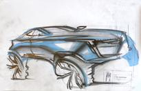 BASF presents winner of 2016 fight club of automotive design at Middlecott Sketchbattle