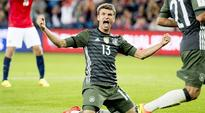 Thomas Muller, Joshua Kimmich score as Germany ease past Norway 3-0 in World Cup qualifiers