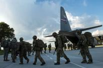 Jump underscores allies' resolve for paratroopers to work together