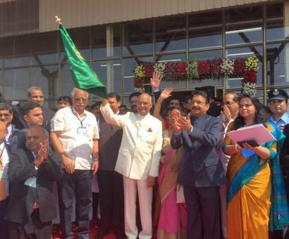 President Kovind inaugurates Shirdi airport