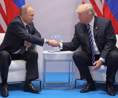 Trump calls Putin, congratulates him on re-election
