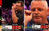 Best bit of darts ever? James Wade and Robert Thornton nail nine-dart finishes