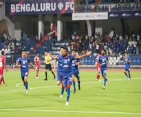 I-League 2017: CK Vineeth Hat-Trick Powers Bengaluru FC to 3-0 Victory