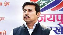 Sports Minister Rajyavardhan Rathore insists NADA could dope-test Indian cricketers