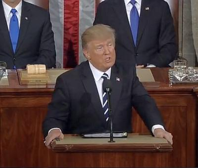 Buy American, and hire American: Trump at Joint Address
