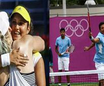 Sania-Bethanie crashed out and Bhupathi-Rohan reached the semifinals