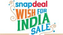 Snapdeal Offers Deals and Discounts as Part of Wish for India Sale