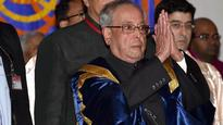 Need to ask questions to those in power, says Pranab Mukherjee