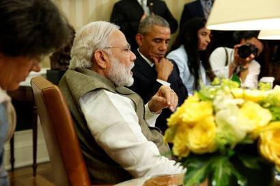 Terrorism, cyber security, climate change dominate Modi-Obama talks