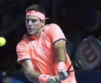 Swiss Indoors: Juan Martin del Potro, Kei Nishikori advance; Richard Gasquet retires at Basel