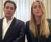 Watch: Johnny Depp and Amber Heard publicly apologise for smuggling dogs; Irony much?