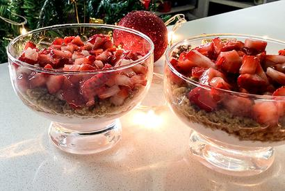 Christmas recipe: How to make Strawberry Yogurt Parfait
