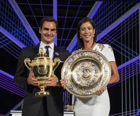 Roger Federer rises to No 3, Garbine Muguruza back in top 5 of latest rankings after Wimbledon wins