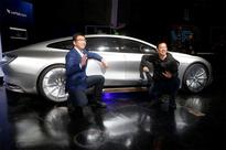 LeEco unveils a self-driving car, but cannot make it drive