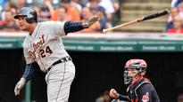 Tigers' Cabrera reaches 2,500th hit at age 33