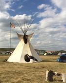 N.W.T. Dene woman joins pipeline protests in North Dakota