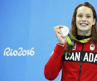 Rio: Net-savvy Canadian teen medal winner has data issues