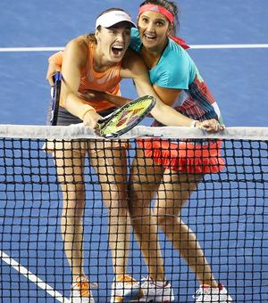 37 and counting! Sania-Hingis extend winning streak