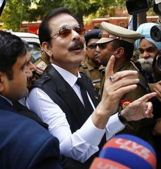 Tihar to Talkatora, Subrata Roy's emotional yatra