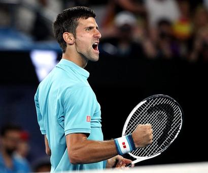 PHOTOS: Djokovic fends off Nadal-slayer Verdasco