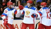 Team Russia holds off North America for crucial win
