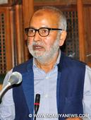 Make sportspersons as your role models: Naeem Akhtar