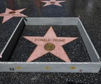 Man smashes Donald Trump's Hollywood Walk of Fame star