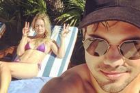 Carrie Fisher's daughter Billie Lourd and boyfriend Taylor Lautner enjoy Mexico break after tough few weeks