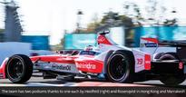 Buemi off to strong start in Formula E