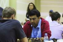 Anand held, Sethuraman stays in joint lead at Gibraltor chess