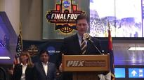 Final Four countdown clock unveiled at Sky Harbor